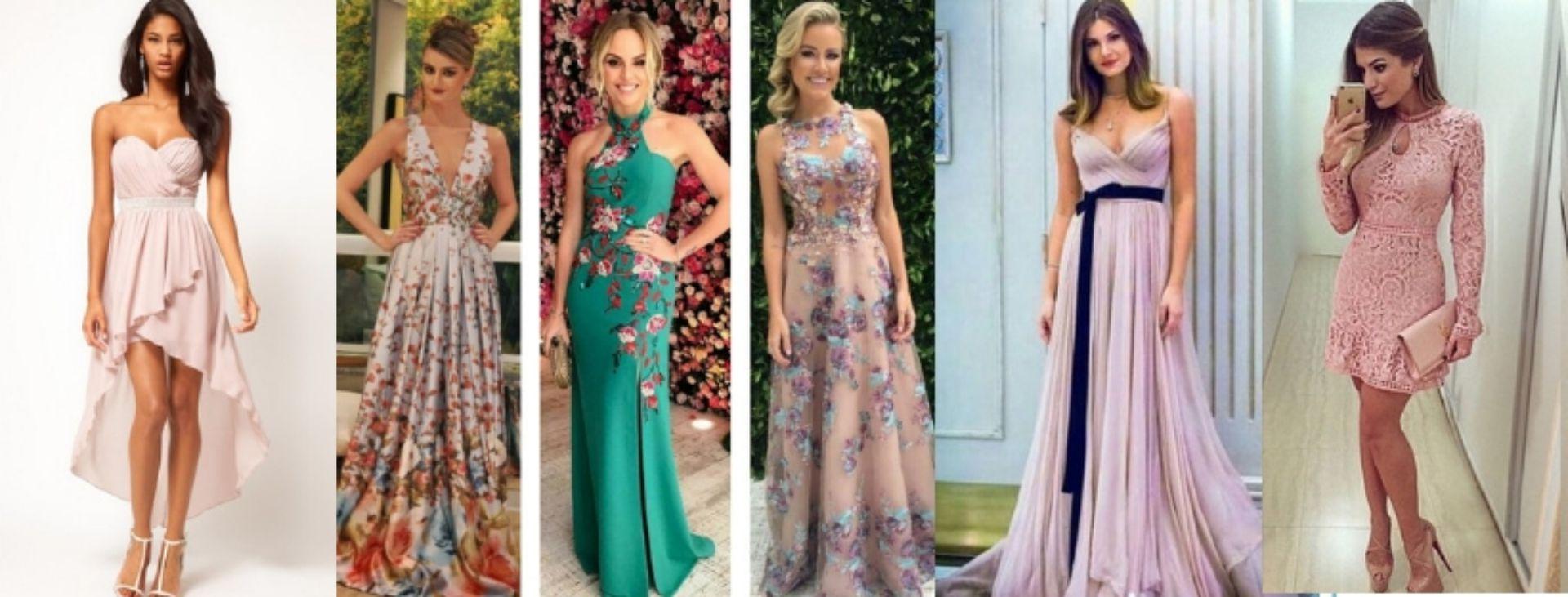 d2d24063e1 Look madrinha  qual modelo de vestido escolher para um casamento de dia